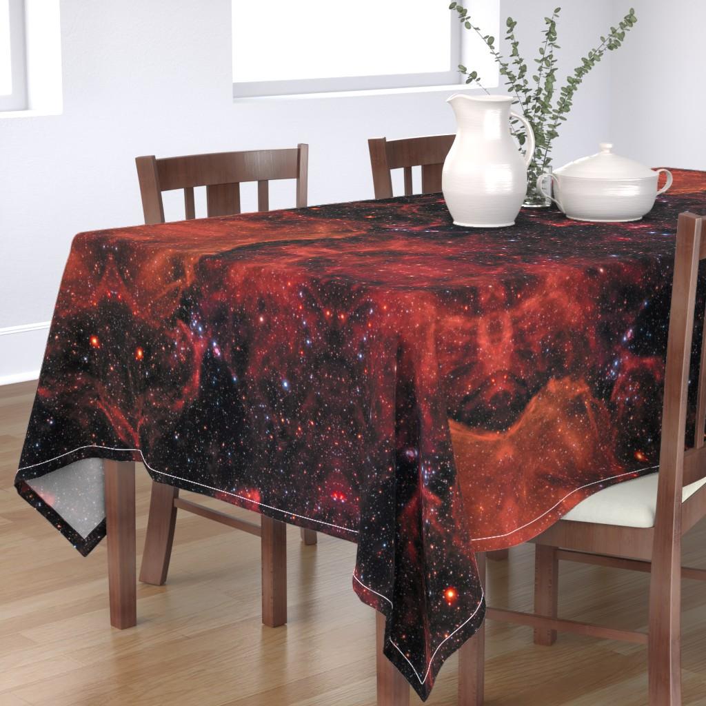 Bantam Rectangular Tablecloth featuring STSCI-H-p1708a-f-3667x4024 by pamelachi
