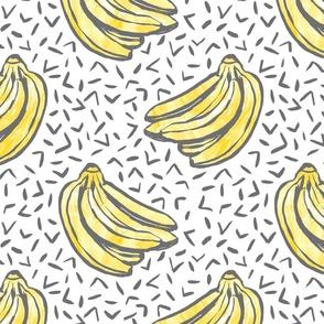 Go Bananas! - White - *large scale*