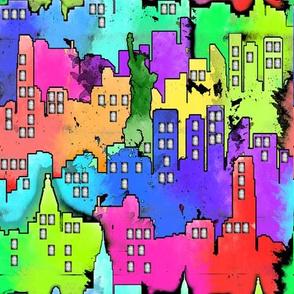 City WaterColor