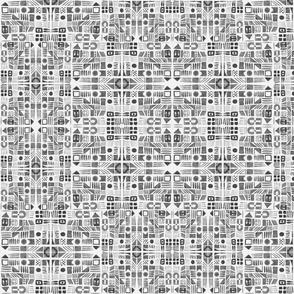light grey doodle