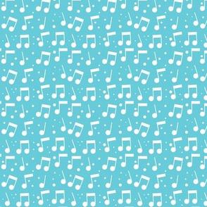 Bird Song Music Blue