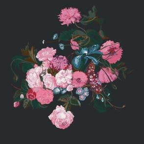 Dark vintage bouquet
