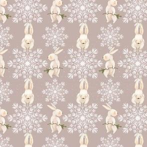 Nordic Winter Bunnies - Yuletide
