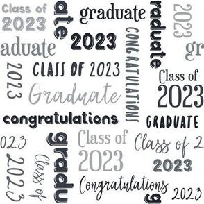 Class of 2021 Graduation in Black and Gray Jennifer Garrett
