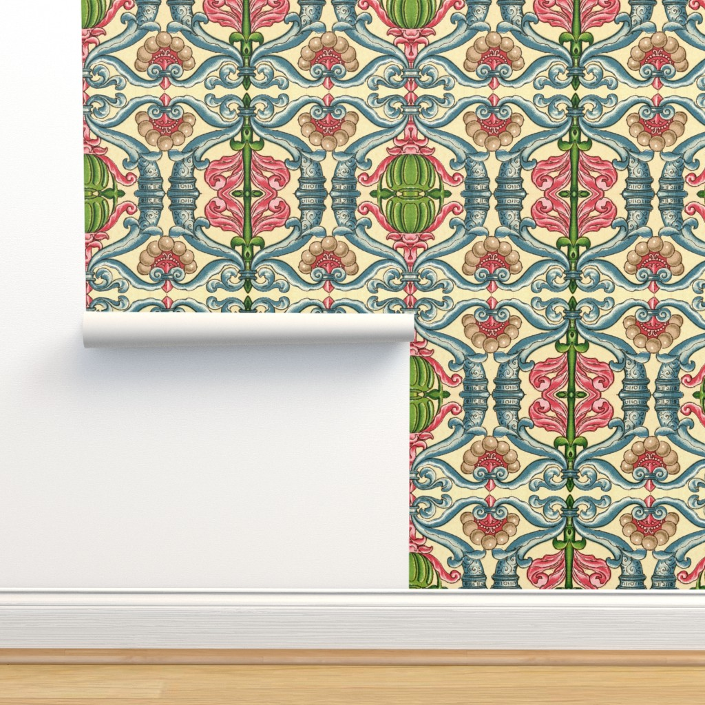 Isobar Durable Wallpaper featuring renaissance29 by hypersphere