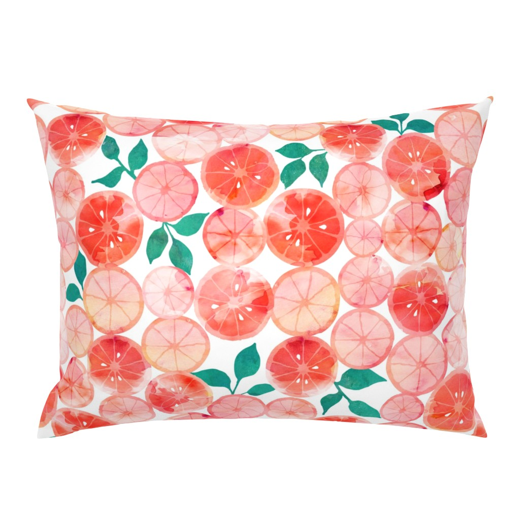 Campine Pillow Sham featuring Summer fruit by adenaj