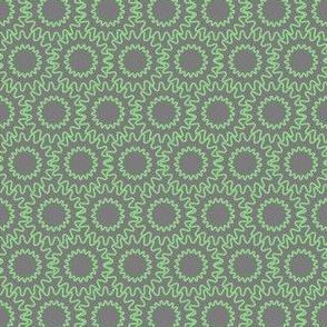 Gear Background (green on grey)