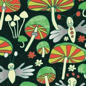 fingerflies and fungi medium