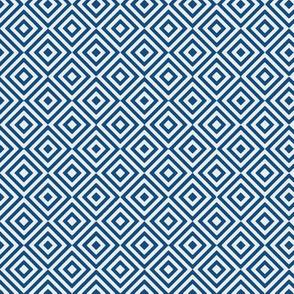 rhombus classic blue