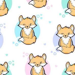 Cute Cuddly Fox