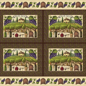 Placemats - Whimsical Fruit