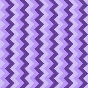 Collared portrait vertical chevron coordinate - purple