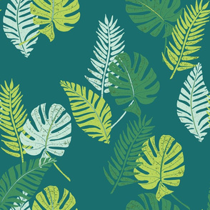 Leafy Palm Canopy Large