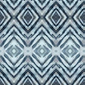Shibori Diamonds Payne's Gray