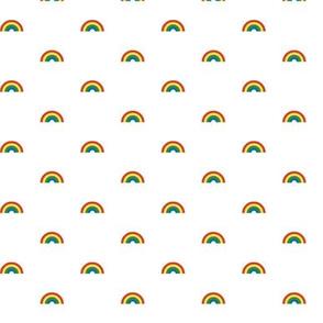 Tiny Rainbows* || rainbow 80s retro gay pride