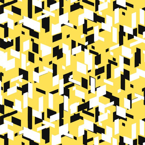 Fragments of a Villlage - Yellow