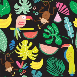 the rainforest_black