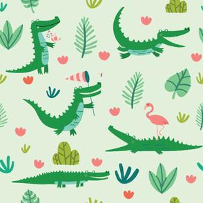 Chillout crocodile