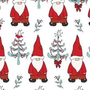 Santa Gnomes - White
