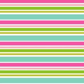 Preppy Horizontal Stripes-EllieFantastic