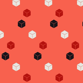 red and black blocks