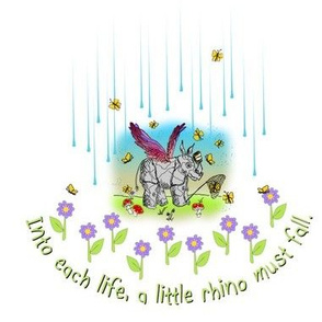 © 2011 Into each life, a little rhino must fall