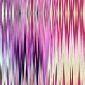 ABSTRACT CHEVRONS WAVES AFRICA ELEPHANT PINK YELLOW SPRING PSMGE