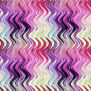 MARBLE WAVES AFRICA ELEPHANT pink yellow PSMGE