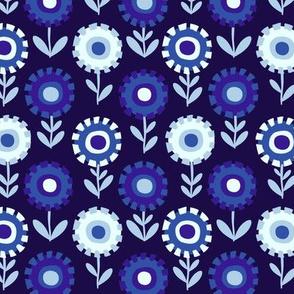 Ultramarine Dandelions by Cheerful Madness!!