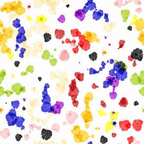 Watercolor Tutti Frutti Coordinate