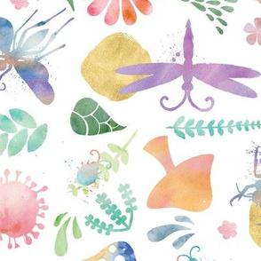 Wild World in Watercolor