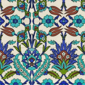 Bosporus-Collection:  Tulip-Nar blue-green