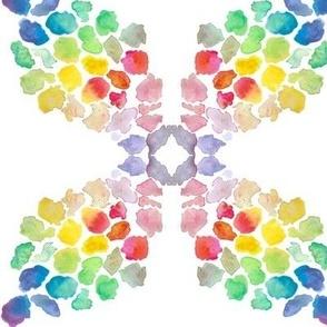 Colour Patch Criss Cross