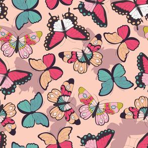 Butterfly pattern 003