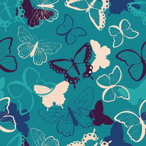 Butterfly pattern 008