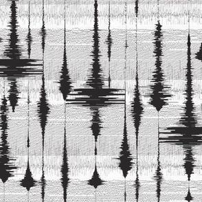Earthquakes - Seismograph Raindrops / earthquake wiggles