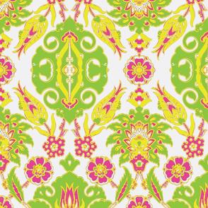 Tulip-Nar Green-Pink-Yellow