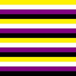Enby Pride Stripes
