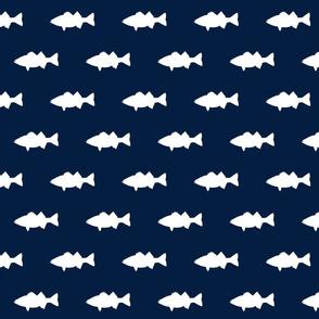 fish on navy
