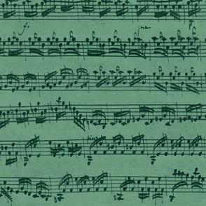 Bach's succulent music
