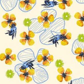 Bee Bloomers  - Yellow