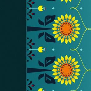 Sunflower Princess Skirt