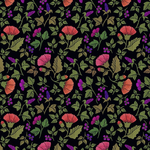 Paper flowers D