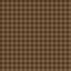 chocolate gingham
