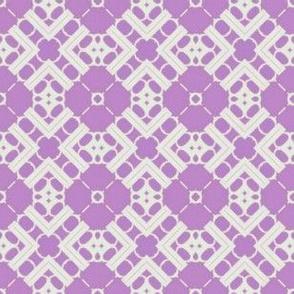 Doilie Over Purple
