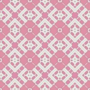 Doilie Over Pink