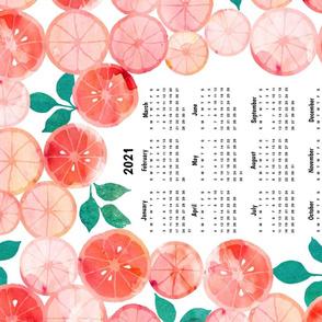 Summer Fruit Tea towel 2021