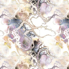 WATERCOLOR MARBLED PAPER AND INK BEIGE 1 MYSTERY FANTASY