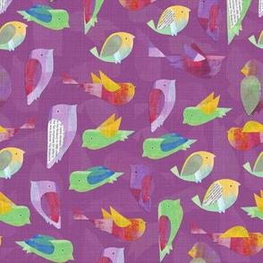 Paper Birds_Mauve