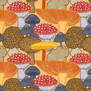 Mushroom Clusters (tan)